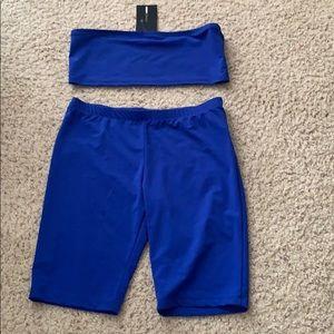 Fashion Nova 2-piece Shorts Set